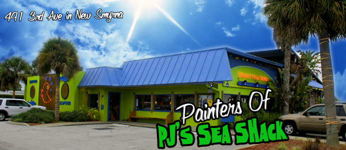 Painters Of PJ's Sea Shack
