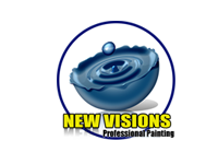 New Visions Professional Painting Company Logo